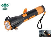 800mah Dynamo AM/FM Radio Flash Light Multifunction Auto Emergency Car Life Hammer