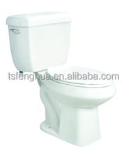 Siphonic Heighten Elongated Pressure Assist Toilet Sanitary Ware