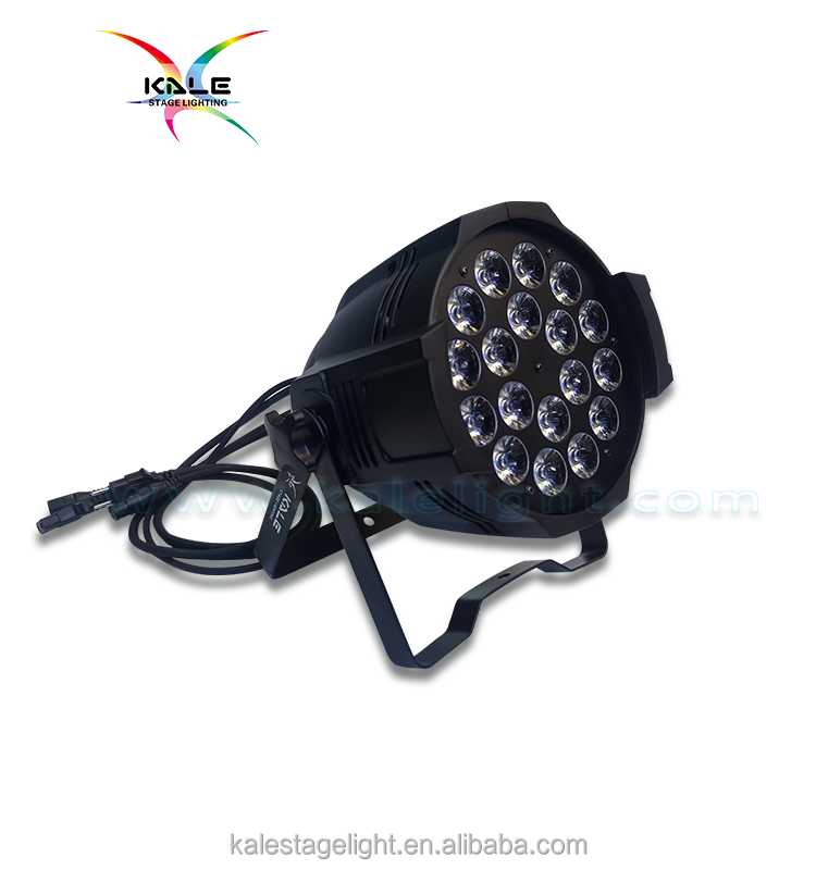 10W * 18PCS LED Par Light,Factory direct sales, overseas, professional stage lighting.