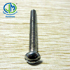 M6 Brass phil& slotted combination machine screw