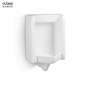 Hot sale wall hung siphon flushing ceramic urinal flush valve urinal sensor urinal for sale