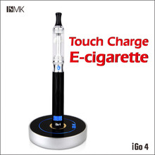 Best selling e hookahs igo4 circular charger smart LED display electronic cigarette 2014