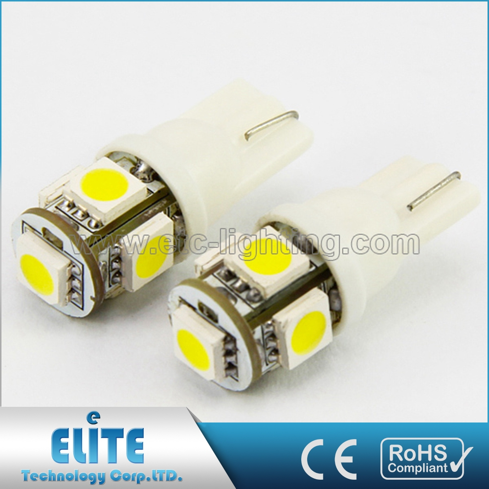 Canbus T10 9 Smd W5W Error Free 194 168 2825 2821 Car Warm White 5050 Led Light Bulbs Dc 12V Wholesale