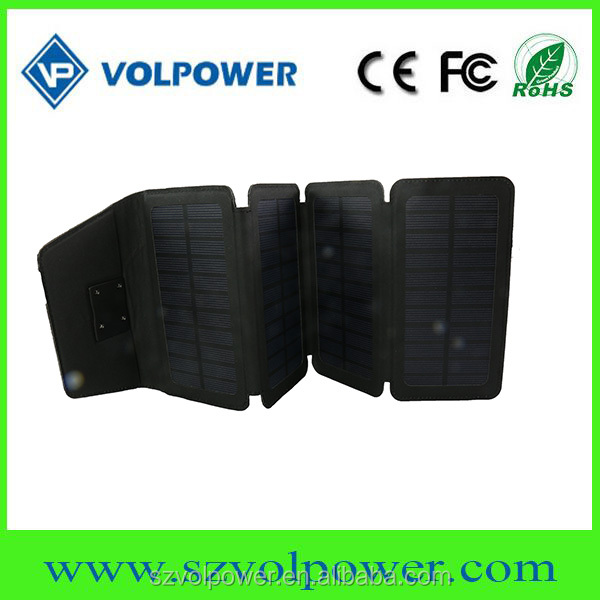 6W 12V solar panel USB charger OEM outdoor mobile phone solar battery charger
