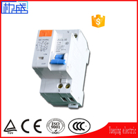 Most popular mcb circuit breaker 40a 4p 30ma 63a N elcb best mcb electric Switch protector MINI circuit breaker CB