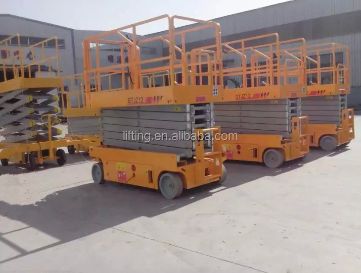 6m 8m 10m 12m Portable man scissor lift for repairing