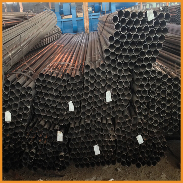 Q195 black annealed steel pipe for Furniture tube