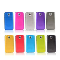 New Arrived Brushed Aluminium Design Battery Back Cover PC Hard Case for Samsung Galaxy S5 I9600