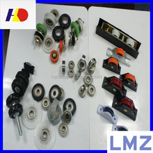 high quality wheels for window track,sliding track pulley wheels