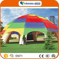 Bottom price super gaint inflatable tent price outdoor bubble tent