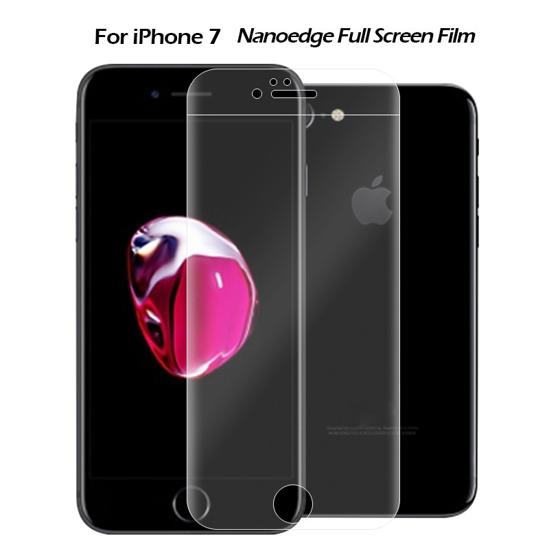 Newest! For Iphone 7/7plus Full Size Covered 3d Curved Screen Protector