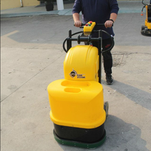 JS550 Double heads concrete floor grinding and polishing machine