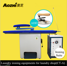 Aozhi laundry ironing table with steam iron and generator