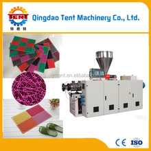 Latest price pvc coil mat roll machine