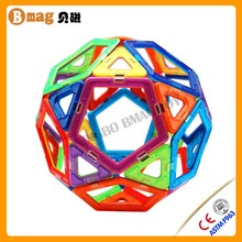DIY Magnetic Rods and Balls magformers Toy
