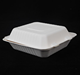 Biodegradable food packaging containers biodegradable disposable paper pulp lunch box