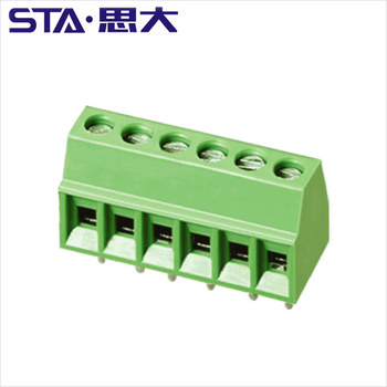 PCB Screw Terminal Block, 2position 3poles 2.54mm(150V 6A), PCB Mount Screw connector