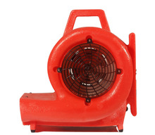 High power floor blower for floor cleaning
