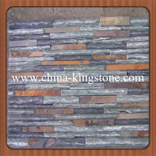Cheap zeera green natural slate tiles for Floor and Wall
