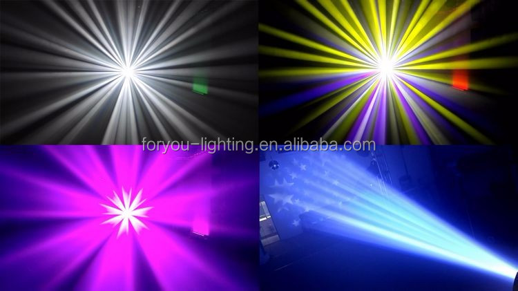 350 Watt R17 Platinum MSD Pro Stage Wedding DMX 48-facet Rotating Prism Zoom Spot Wash 3in1 350W 17R Spinning Moving Head Beam
