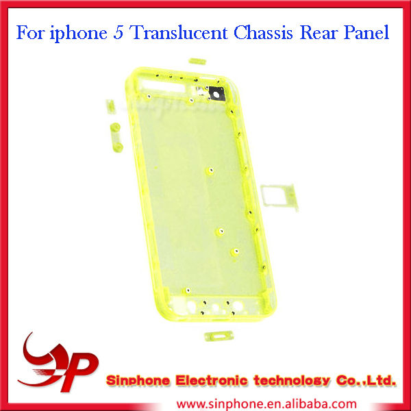 Replacement For iphone 5 Color Chassis Rear Panel
