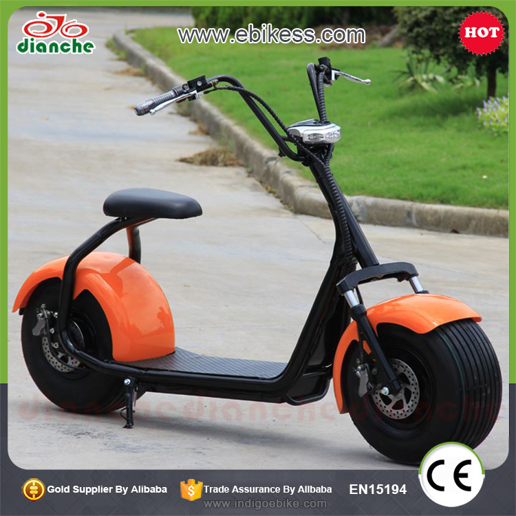 2017 most popular hub motor wheel electric scooter with good price