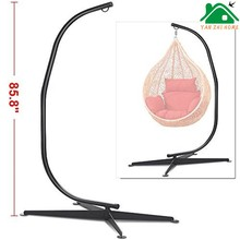 YANZHIHOME Outdoor swing hanging chair / hanging egg chair / rattan hanging chair for adults