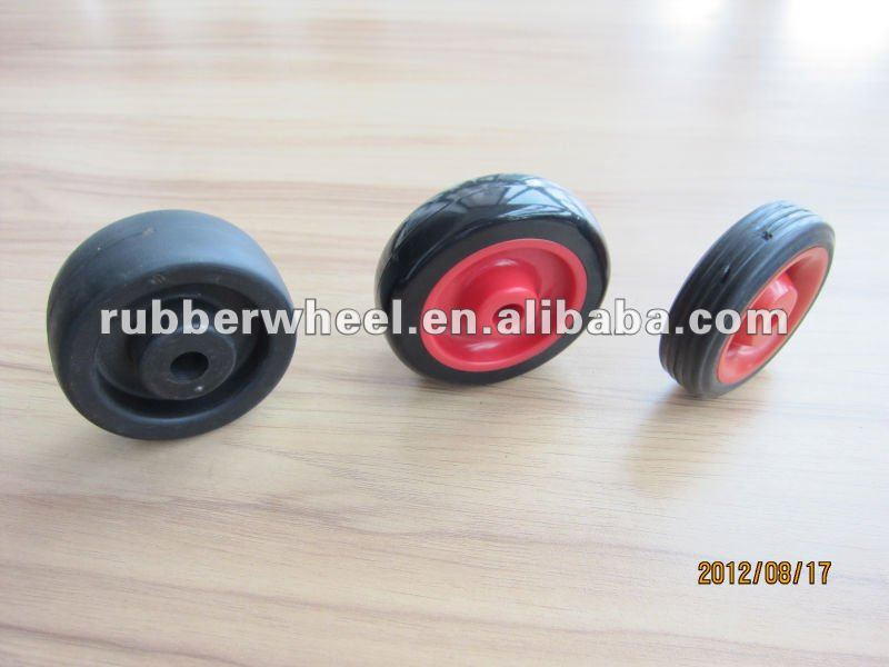utility small industrial plastic roller 3 inch wheel