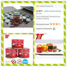 Primary Ingredient High quality No additive canned tomato paste