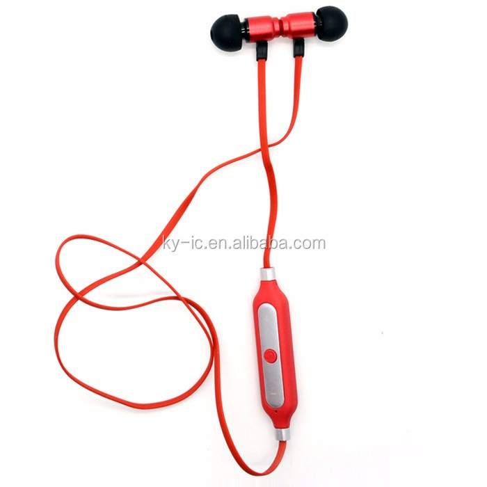 Factory OEM Sport Mini Bluetooth V4.0 Wireless Headset with Mic