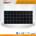 IEC TUV Certificated Best Price 160w Price Per Watt Solar Panels In India