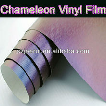 3m adhesive waterproof chemeleon color change pvc film ,galaxy vinyl car protective wrap vinyl film, purple blue yellow silver