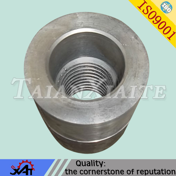 steel sleeve bushing with round steel machining for auto parts