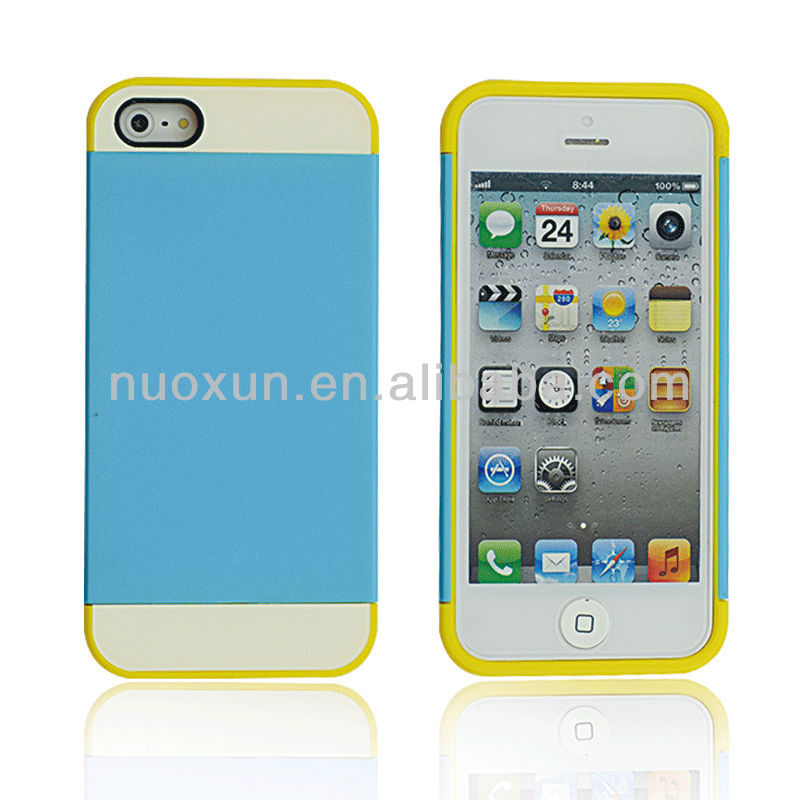 New design 3 in 1 deff cleave hard case for iphone 5