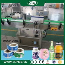 2017 Automatic Round Bottle Adhesive Sticker Labeling Machine for food packaging Driven By Electricity