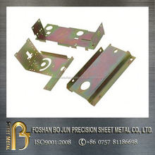 custom sheet metal color galvanized punching spare part fabrication made in chinese manufacturing company