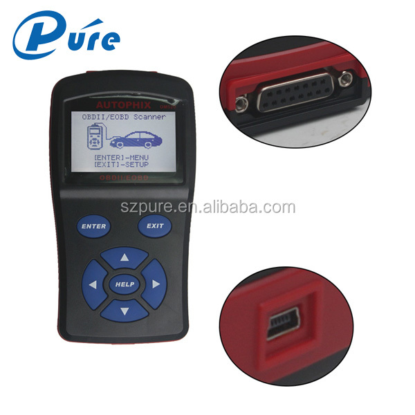 2016 professional diagnostic scanner OBDMATE OM520 / OBD II Scan Tool / Universal Auto Diagnostic Tool