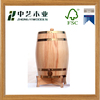 FSC pine painting wooden wine barrels for sale