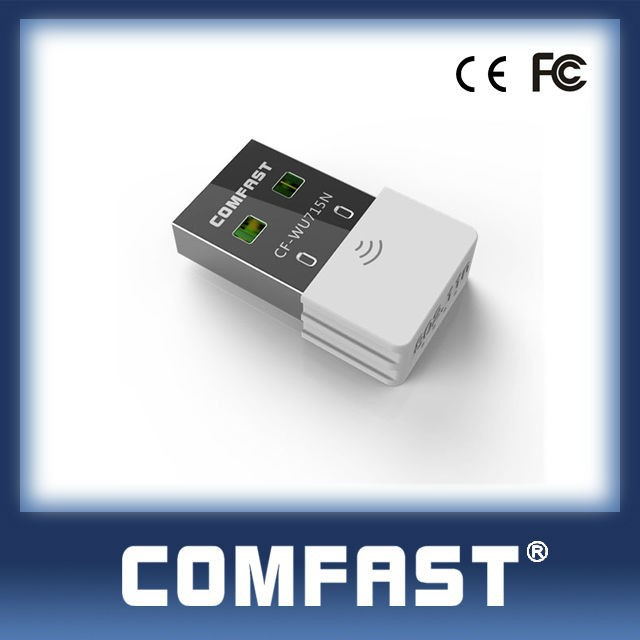 COMFAST CF-WU715N IEEE802.11b MTK5370 Pc Wireless Dongle Wireless Dongle For Desktop PC with CE ROHS FCC Wireless Keyboard