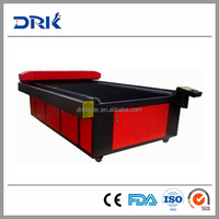 high quality low cost plastic laser cutting machine DRK1318/1325