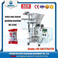 Full automatic lotus root starch / tea powder packaging machine with CE certificate
