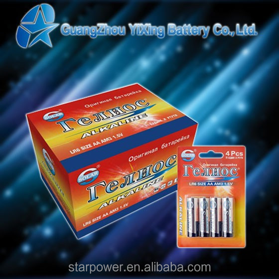 LR6 Size aa super capacitor battery
