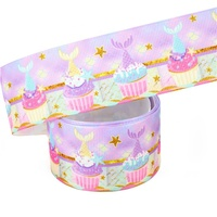 Wholesale 3 inch Sublimation Printed Grosgrain Ribbon