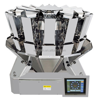 Stainless Steal High detecting sensitivity 14 head multihead weigher