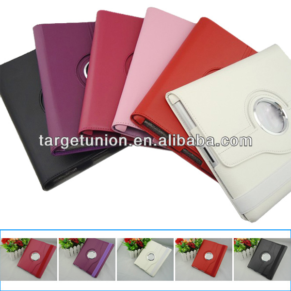HOT sale for Apple Ipad 2 3 leather case