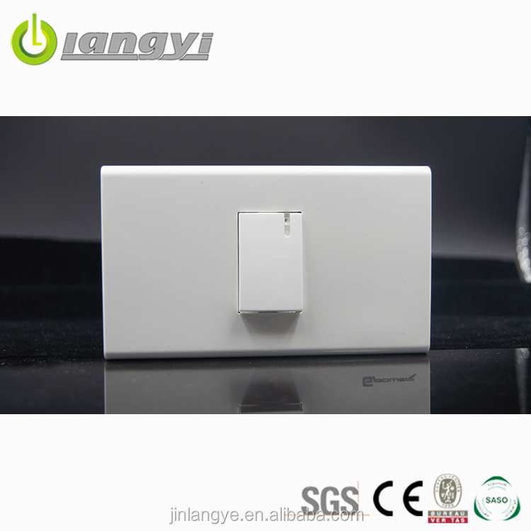 Electrical Wall Switch White Blank Plate 1