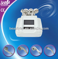 Powerful white color new type handpiece rf cavitation and ultra sound