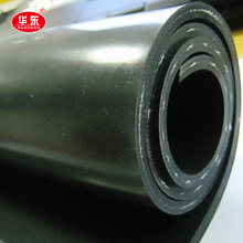 High Tear Resistance Heat Resistance Rubber Sheet Reinforced With Fabric
