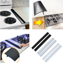 Flexiable FDA Silicone Gap Seal for Kitchen Stove Counter Gap Cover Heat Resistant Silicone Seal