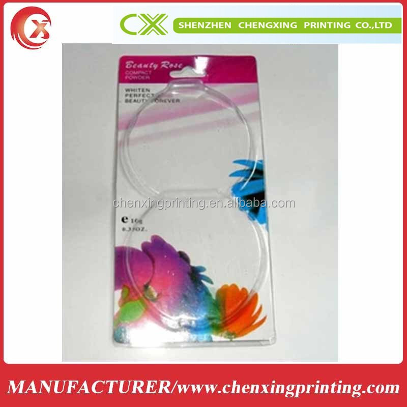 Design paper slide card blister packaging for electronics products
